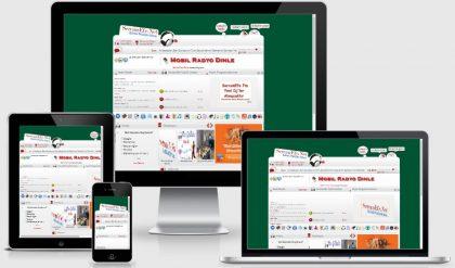 Gri WordPress Radyo Sohbet Teması