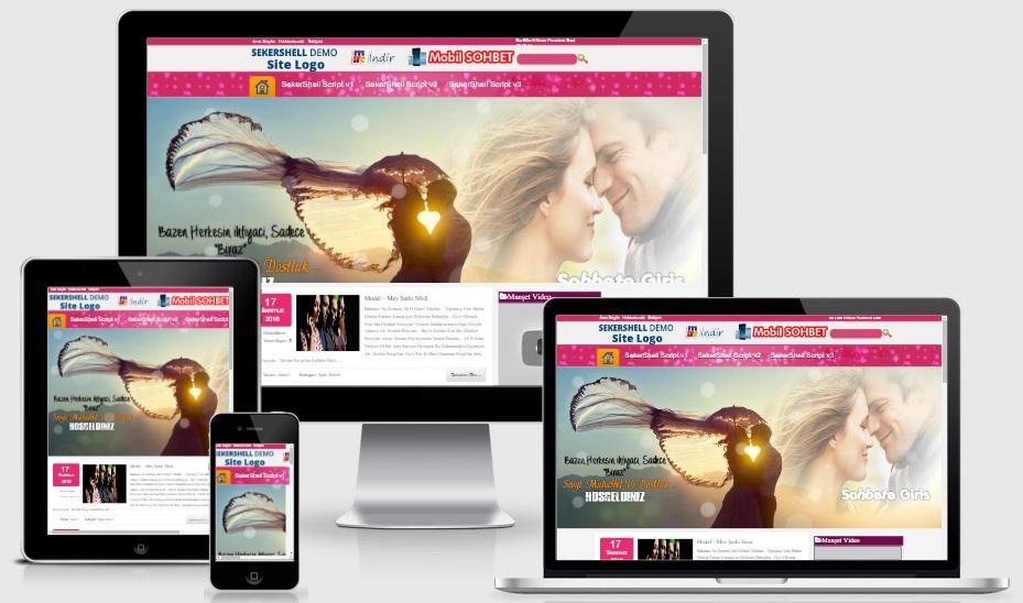 Kiss WordPress Sohbet Teması