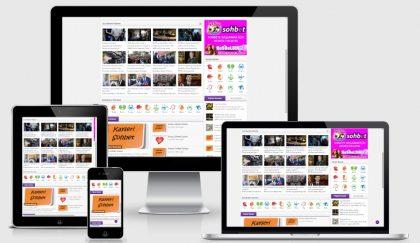 Leader WordPress Sohbet Teması
