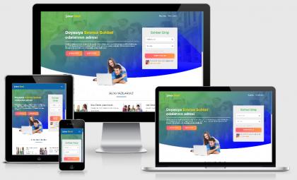 Turkuaz ( Dalga v2 ) WordPress Sohbet Teması